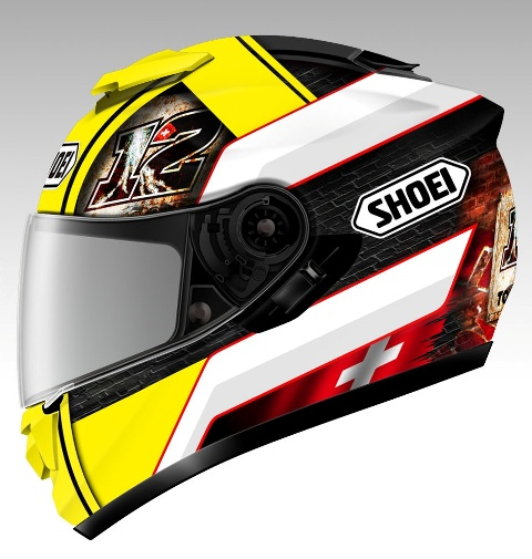 Casca SHOEI GT-AIR LUTHI LTD. TC-3 11 11 900 2