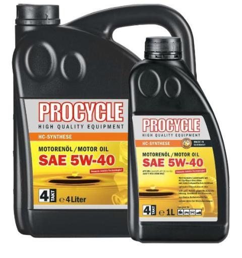 Ulei PROCYCLE 5W40 4T HC-sintetic 1L 10038464