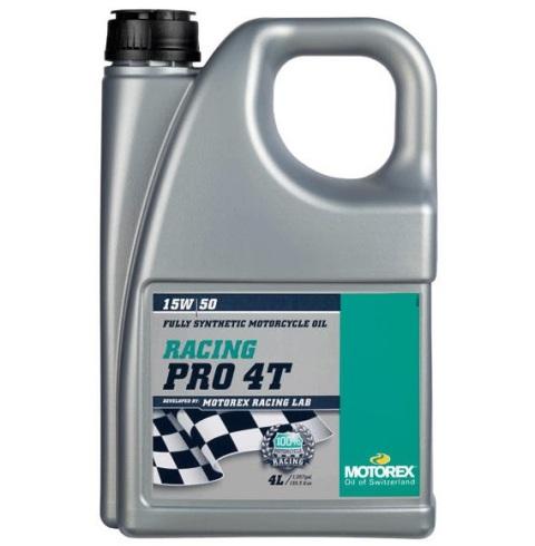 Ulei MOTOREX RACING PRO 4T 4L 15W50 940-355