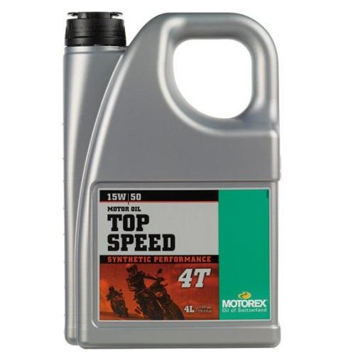 Ulei MOTOREX TOP SPEED 4T 4L 15W50 940-275