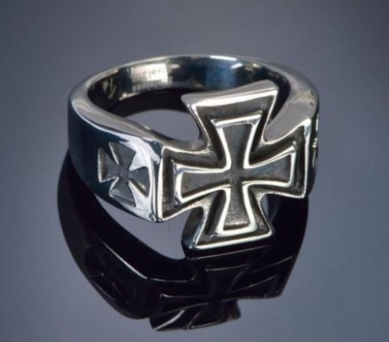 Inel IRON CROSS II LOUIS 19 mm 10014557