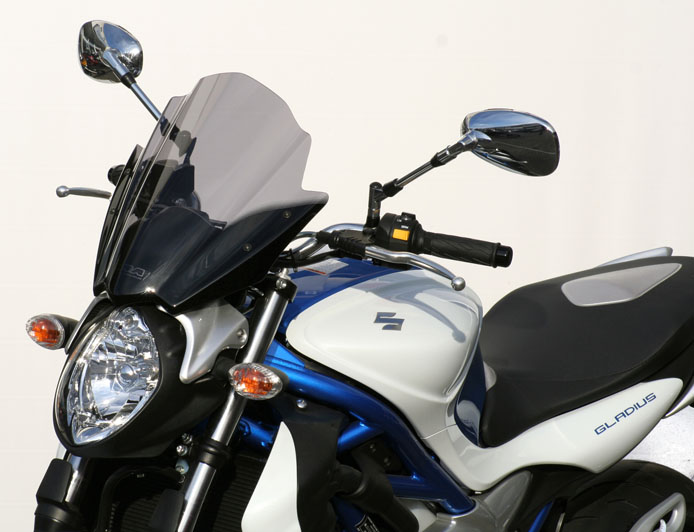 Parbriz MRA Racing-Screen Naked-Bikes SUZUKI GLADIUS 650 dupa 09