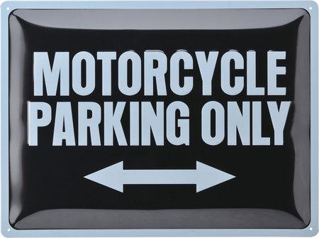 Tablita MOTORCYCLE PARKING ONLY LOUIS 10014121