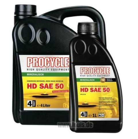 Ulei motor PROCYCLE 4L HD SAE 50 10038461