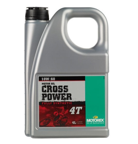 Ulei MOTOREX CROSS POWER 4T 10W60 4L 940-315