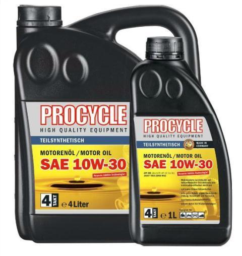 Ulei semi-sintetic PROCYCLE 4T SAE 10W-30 1L 10038462